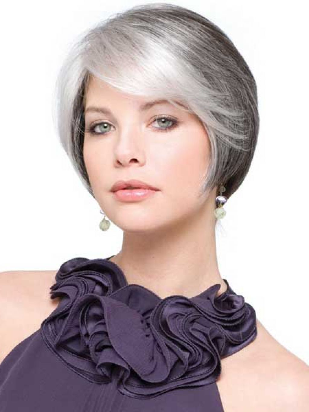 Short womens hairstyles for gray hair - Short Hairstyles For Older Women With Gray Hair