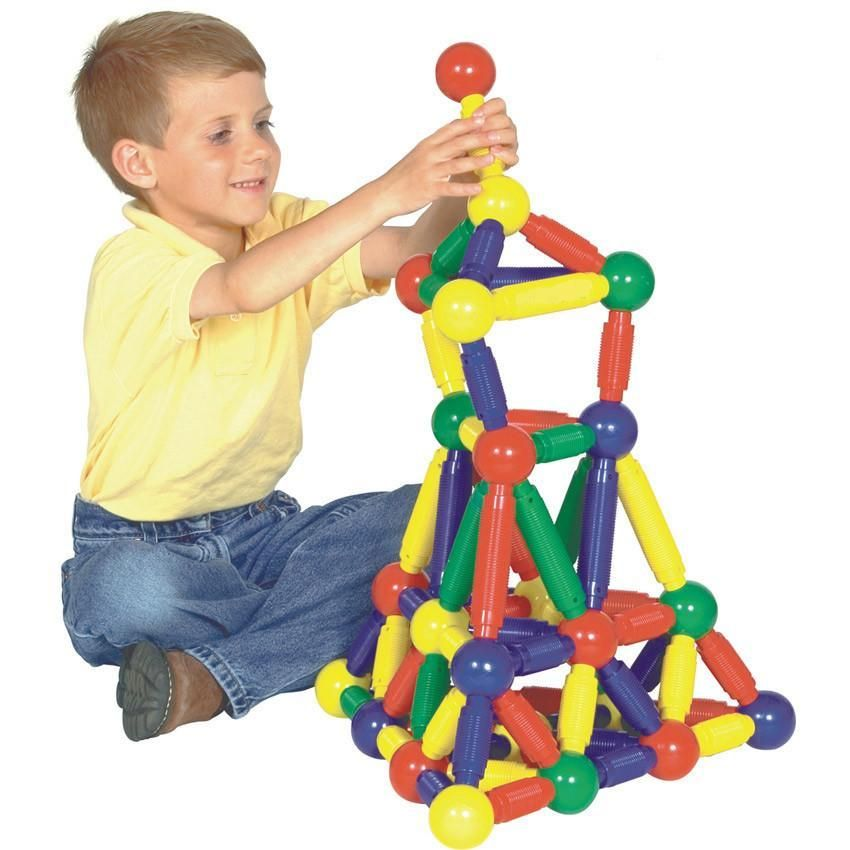Chunky Magnetic Construction Set from Spectrum Educational ...