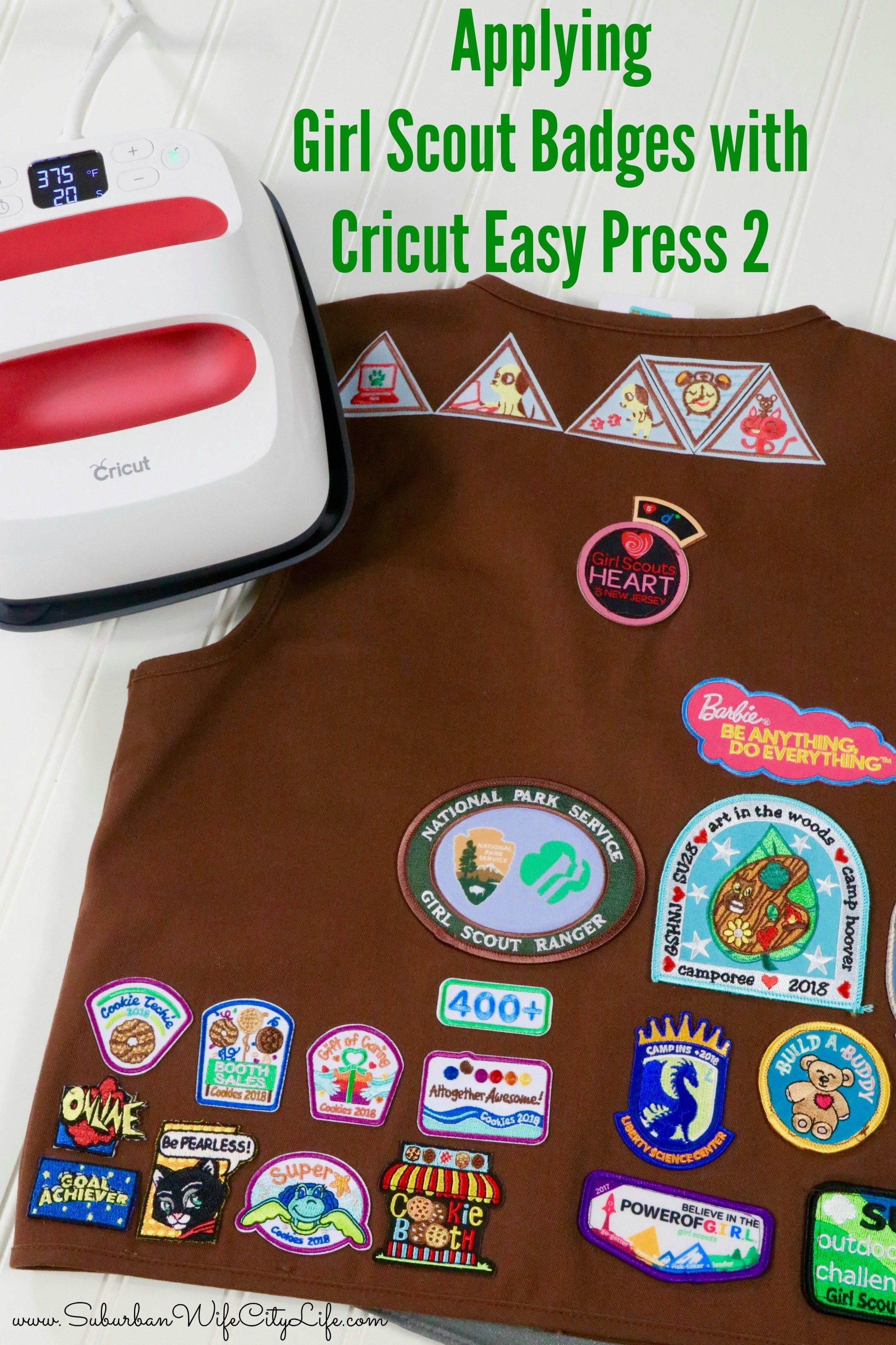 how to make patches with cricut