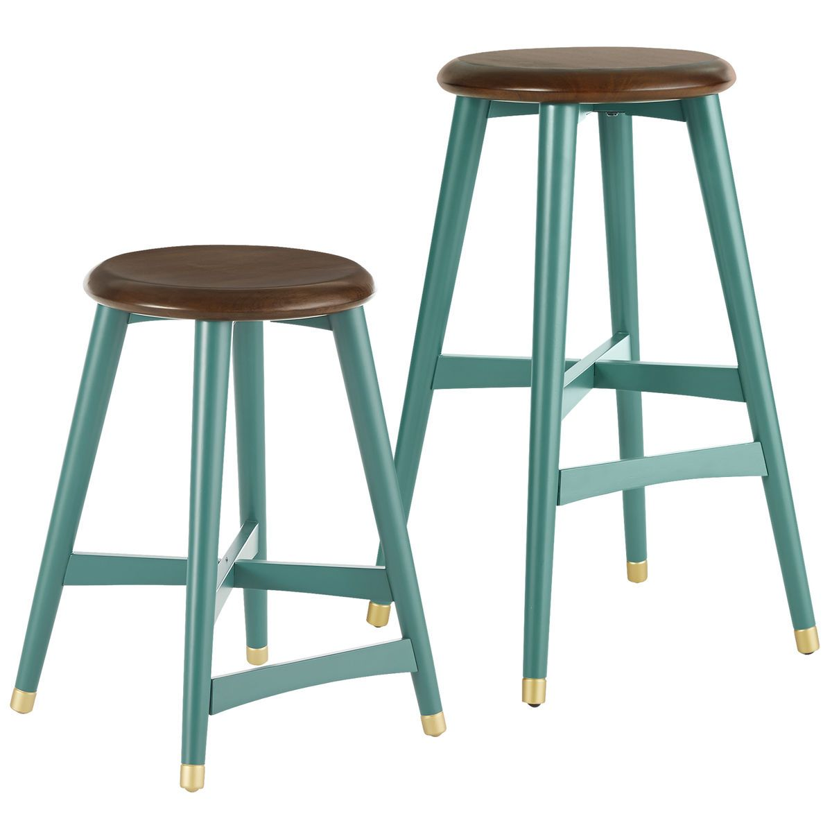 Turquoise Cooper Bar & Counter Stools | Turquoiseaholic | Pinterest ...
