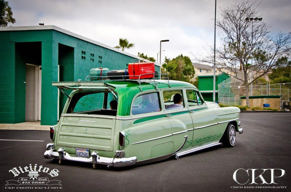 Post pictures of your 1953 & 1954 Chevy Bombs | Low rider