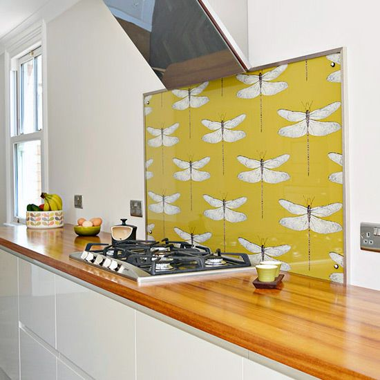 create your own unique diy splashback for your kitchen or bathroom