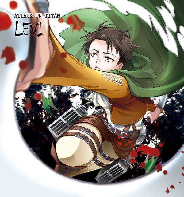 Shingeki no Kyojin - Levi by moonu17 on DeviantArt