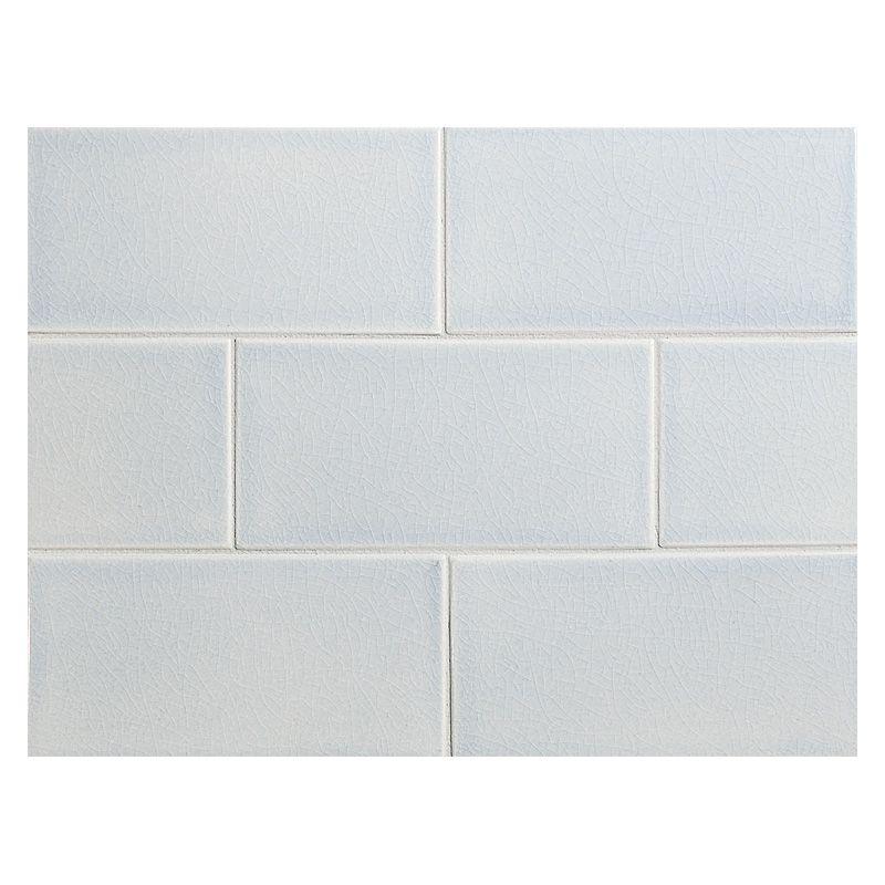 Complete Tile Collection Vermeere Ceramic Tile Sweet Bluette Crackle 3 X 6 Manhattan Ceramic Subway Tile All Of The C Ceramic Tiles Subway Tile Tiles