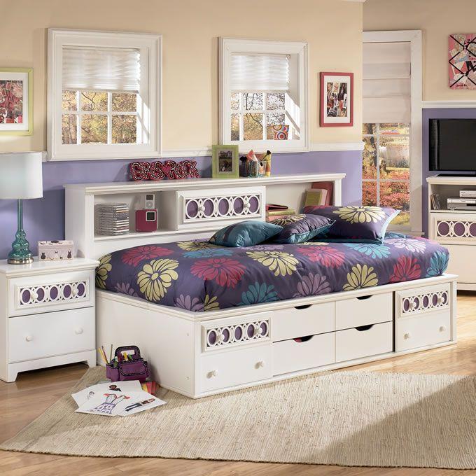 Bett Mit Bücherregal Aufbewahrung Kinder: Regale Ideen   Schlafzimmer