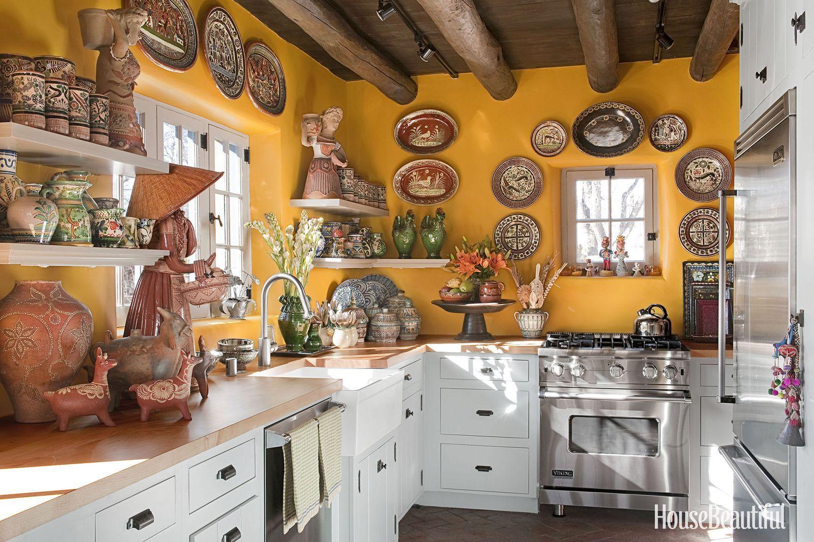 8 5 Plate From Puebla Mexico Talavera Pottery Blue White Kitchen Southwestern Kitchen Wall Decor In 2021 Talavera Pottery Kitchen Wall Decor Blue White Kitchens
