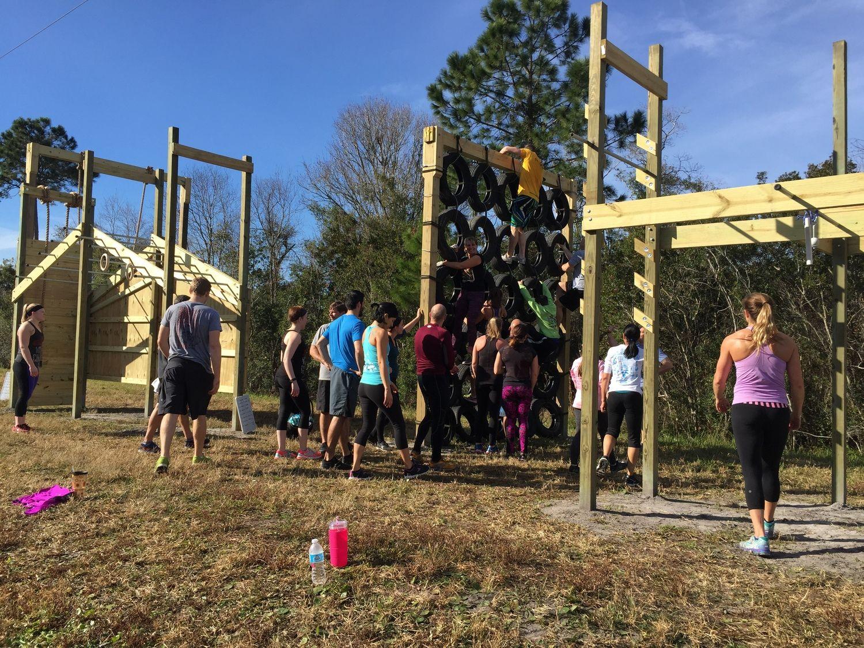 diy ninja obstacle racing course in backyard ninja warrior