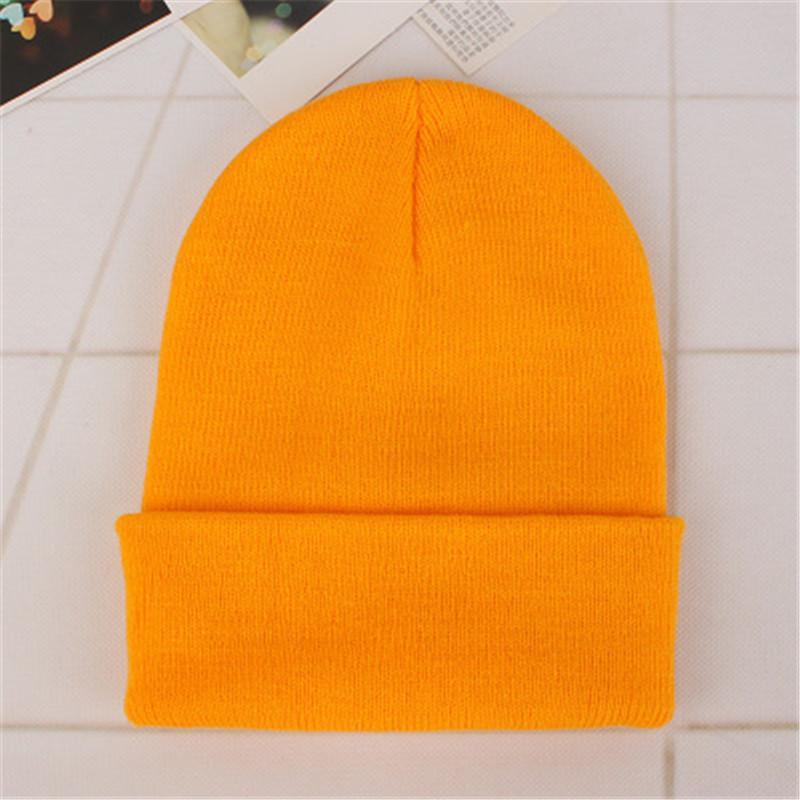 65adc5ce4 2018 Spring Beanies Woolen Cap Men Winter Hat For Women Solid ...