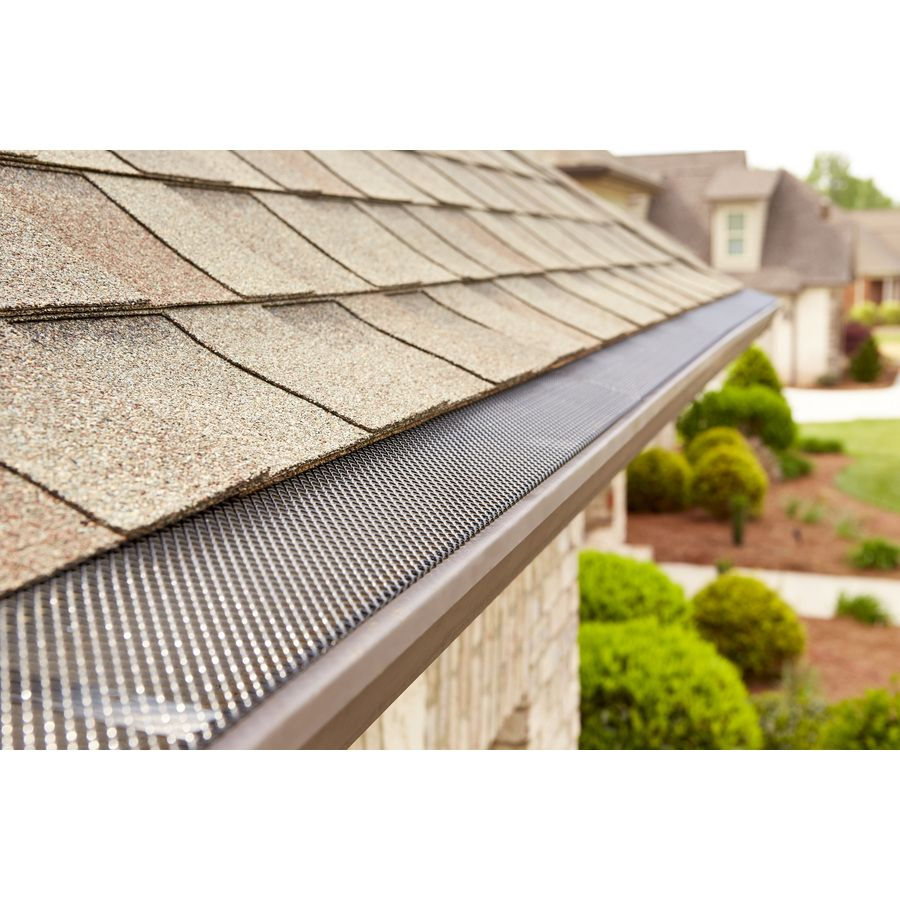 Shop Invisaflow Galvanized Steel Gutter Guard At Lowes Com Evler