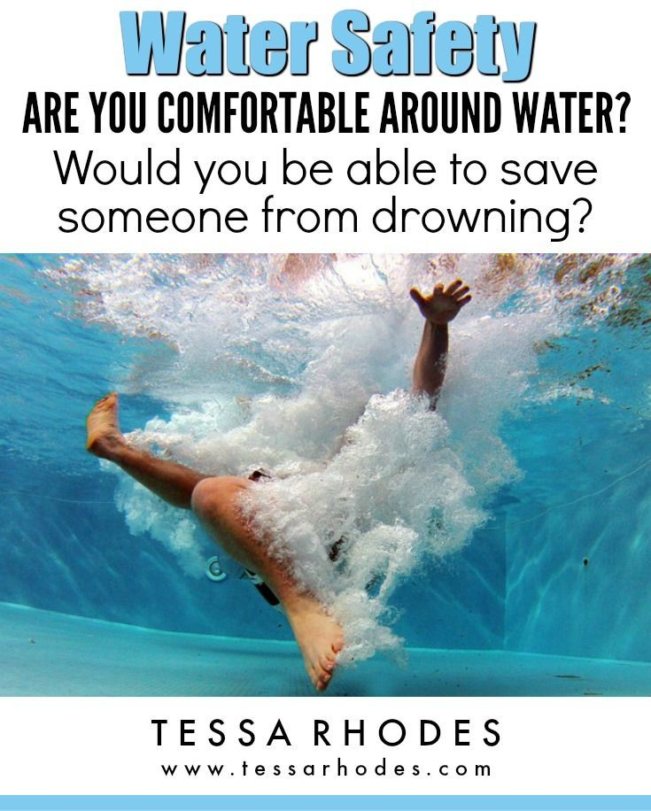Are You Comfortable around Water? Water safety, Water