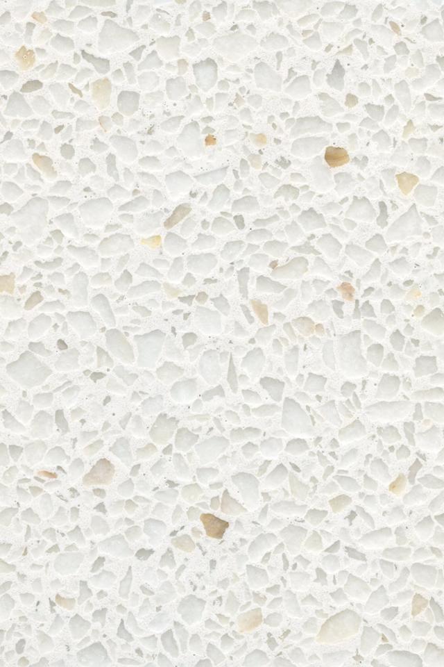 Snow White Terrazzo Aggregate Terrazzo Interior Design