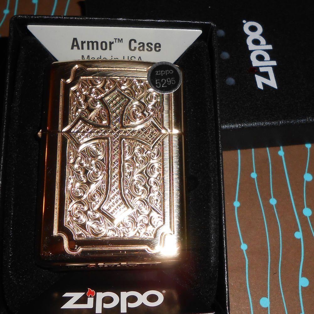 Zippo 29436 Armor Eccentric Cross Deep Carve Hp Brass 2017 Release New Lighter Zippo Lighter Carving