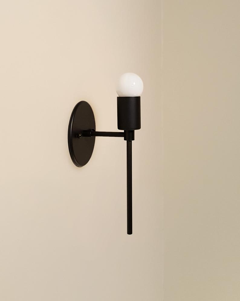Trek Torch Contemporary Minimal Brass Wall Sconce Lamp Light Sconces Wall Sconces Interior Design Elements