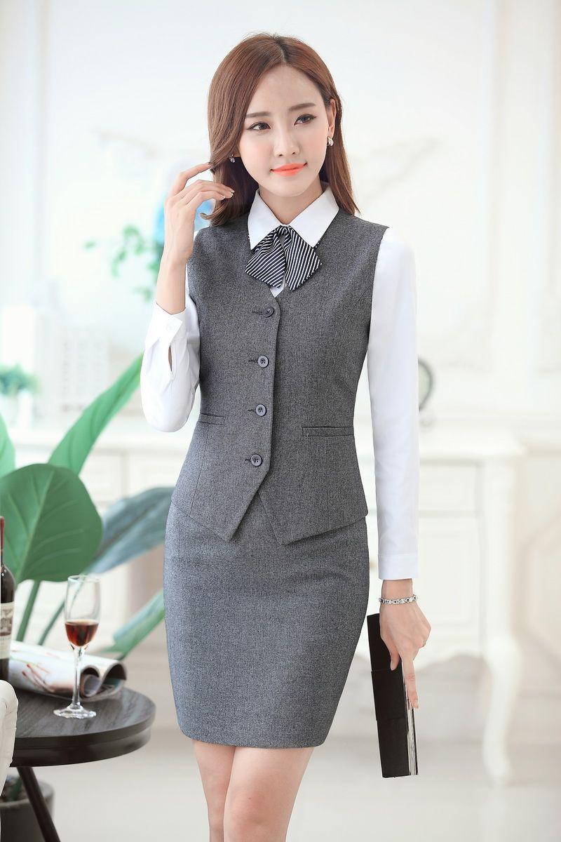 Tienda Online Formal mujeres trajes de negocios trajes formales de ... 9250197dab36