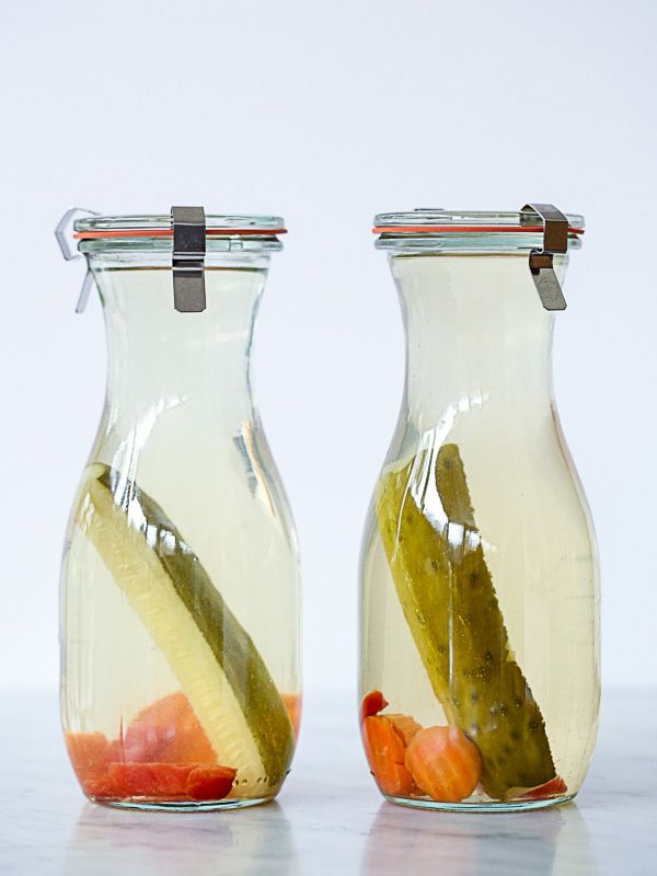 Homemade pickle-infused vodka will put your Bloody Mary over the top