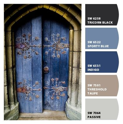 Historic - Color Palette Inspiration Paint colors from Chip It! by Sherwin-Williams