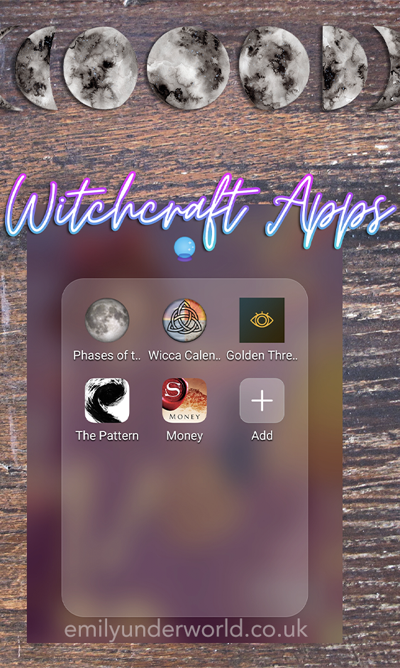 Witchcraft Apps Apps for Witches The Best Witchcraft Resources The Best Witchcraft Apps The Best Witchcraft Books Phases of the Moon Astrology Apps Golden Thread Tarot Ma...
