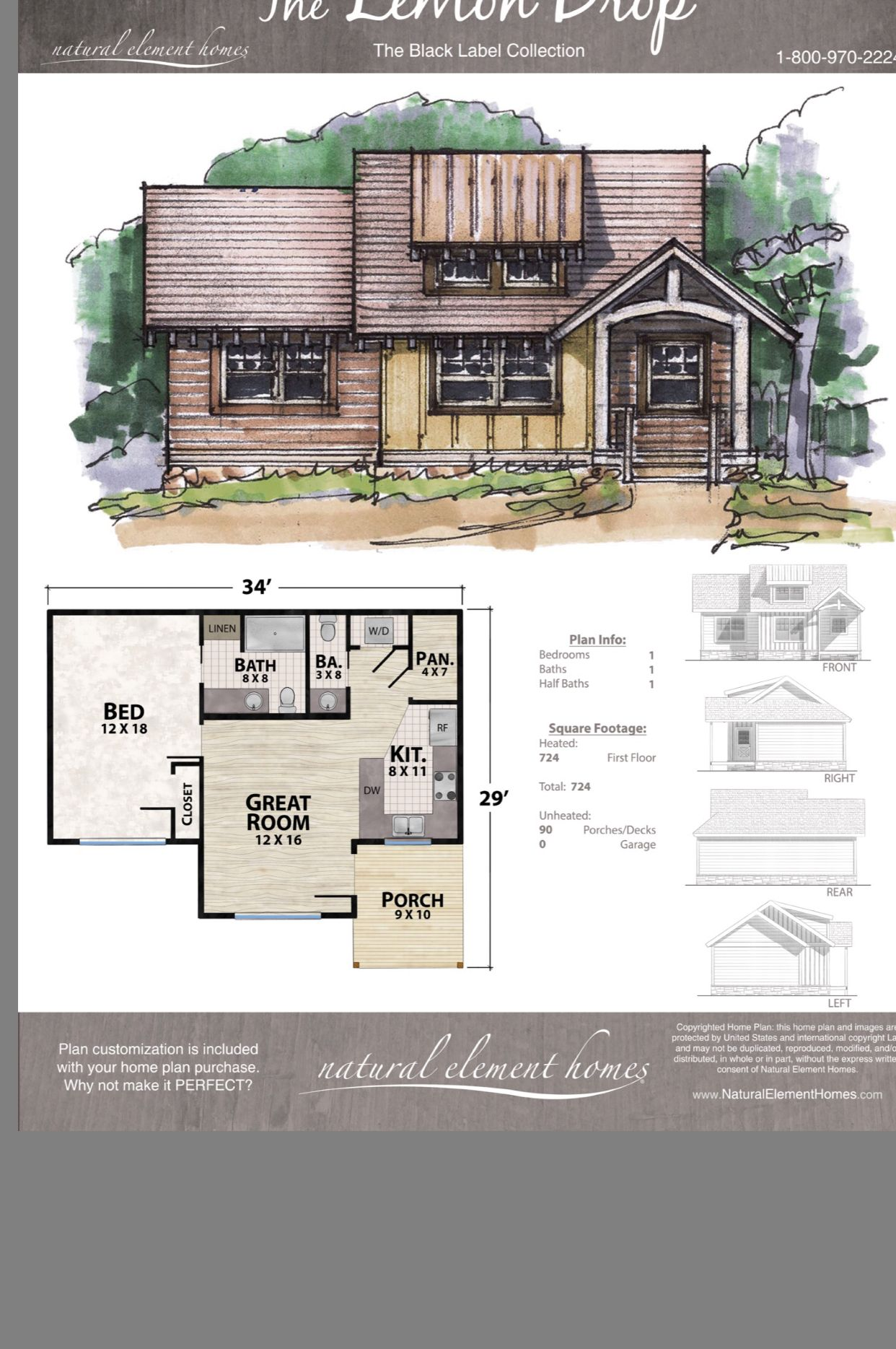 Pin By Cherie King On House Plans Small Country Homes House Plans Small House Plans