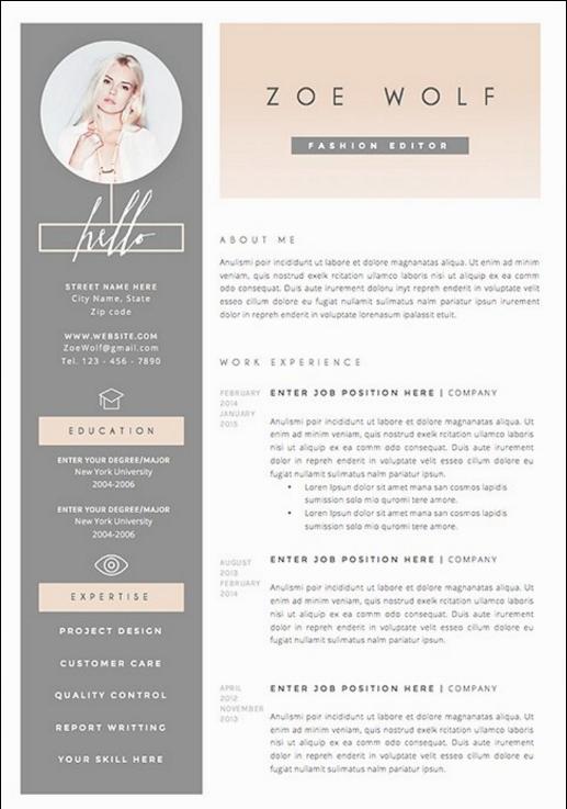 The 17 Best Resume Templates Curriculum Vitae Carte De Visite Cv Original