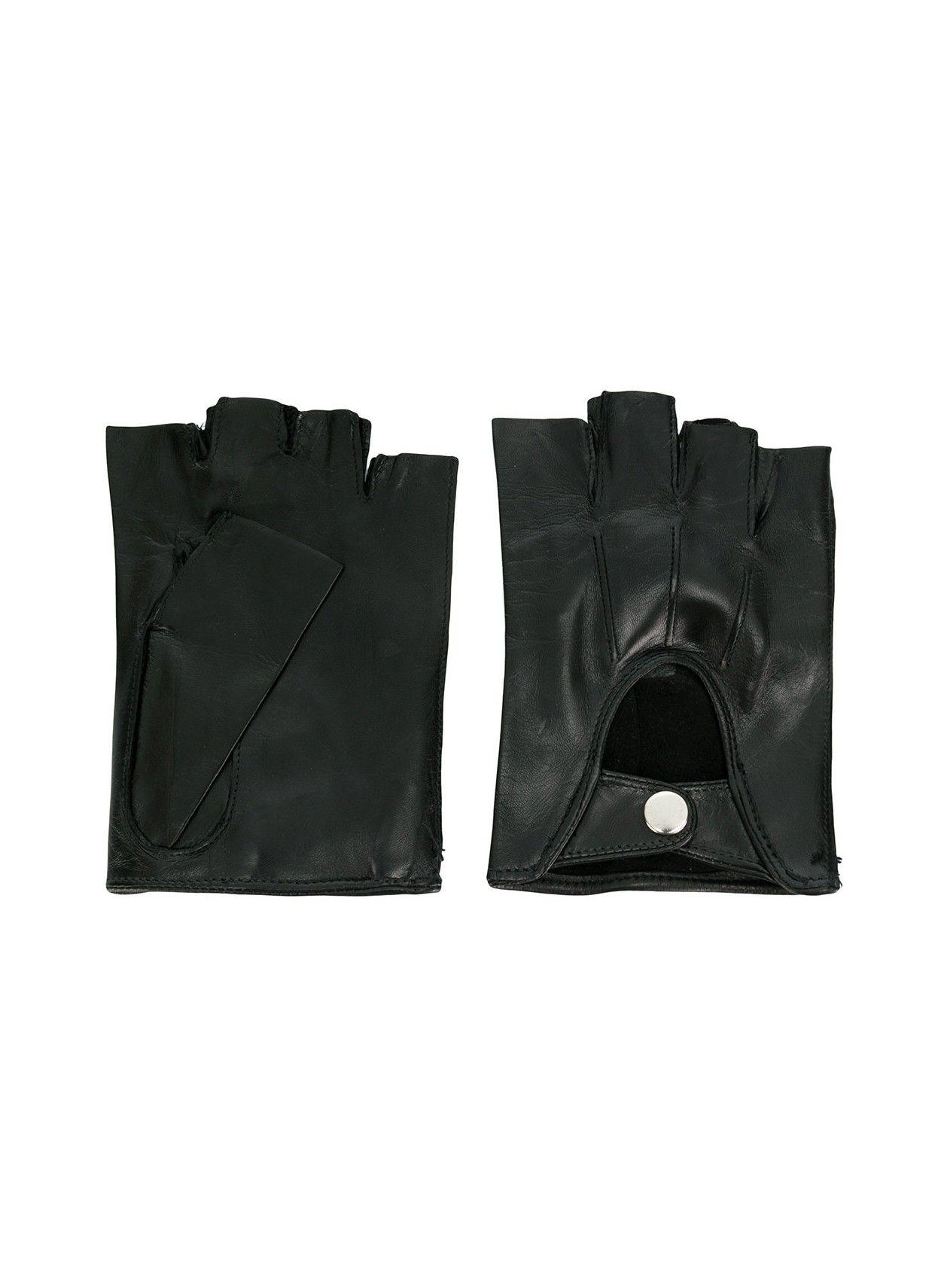 Fingerless Gloves Joris Black - Ann Demeulemeester