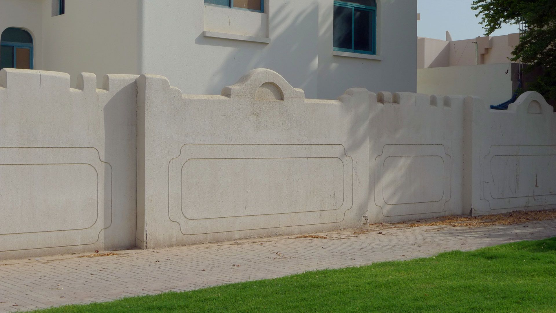 Ultra Modern Boundary Wall Designs Modern House