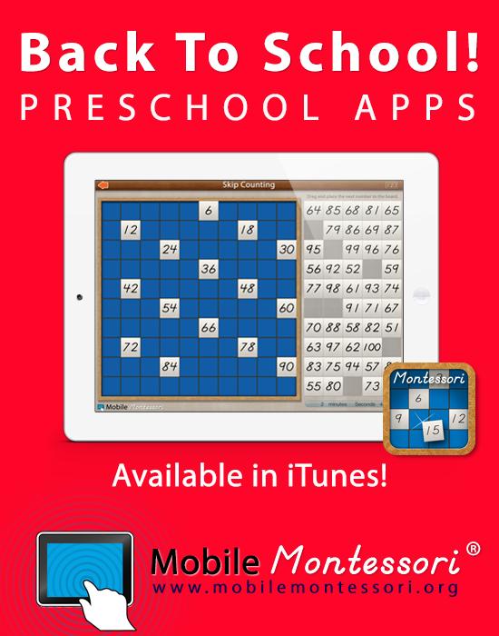 Educational Apps for preschool, kindergarten, & first