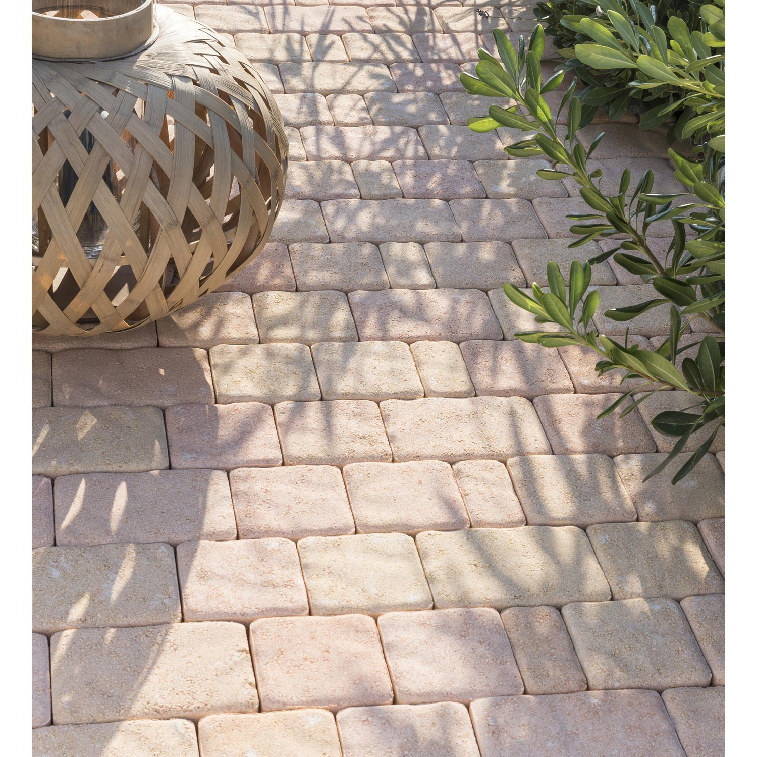 Pave Beton Antique Multiformat Flamme 12x6 12x12 18x12 X Ep