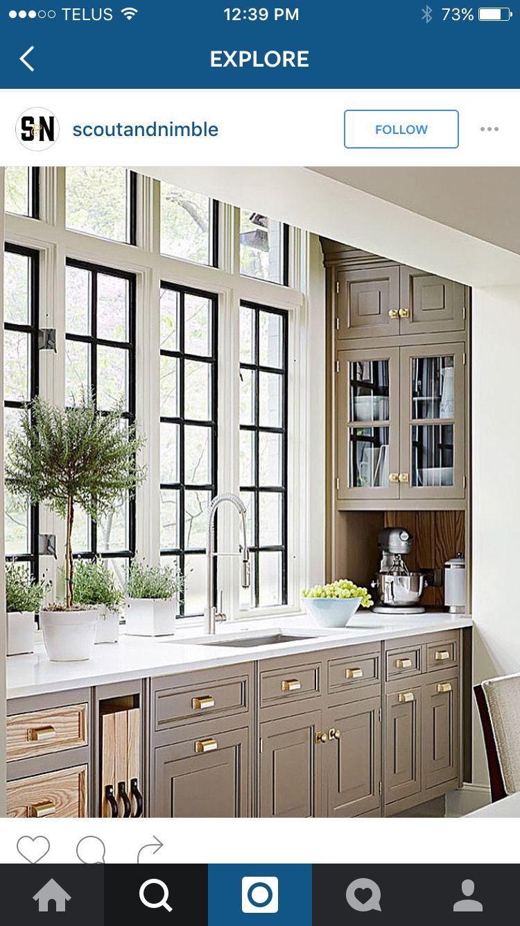 Corner window kitchen sink  kitchen  home  pinterest