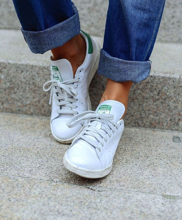 All white sneakers, Womens fashion