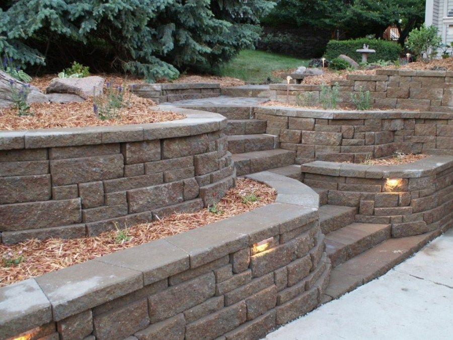 Retaining Wall Ideas Retaining Wall Backyard Landscaping Plans Concrete Retaining Walls