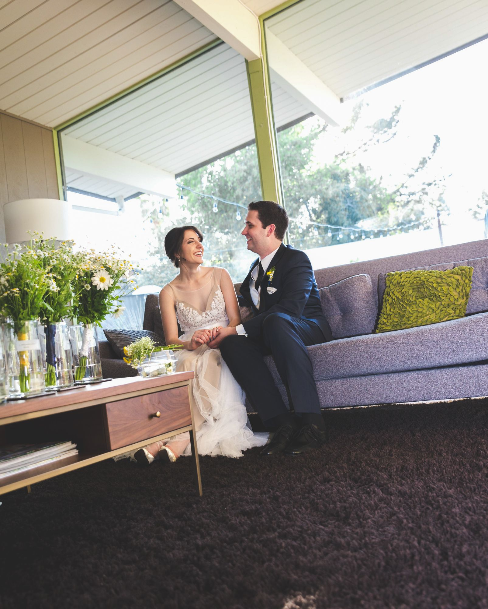 A Classic Wedding With A Retro Spin At Emmanuel
