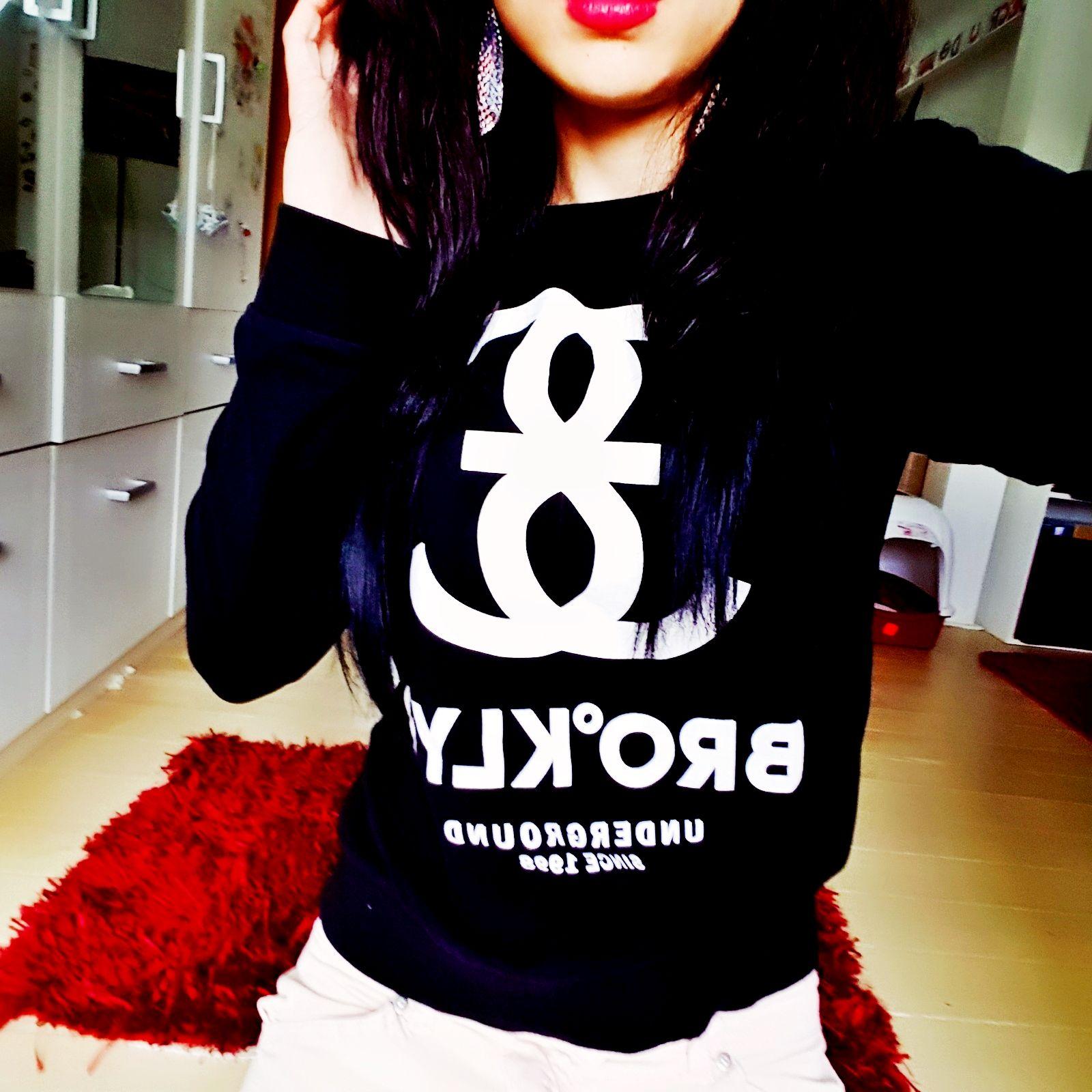 Sweatshirt mit Druck von H&M