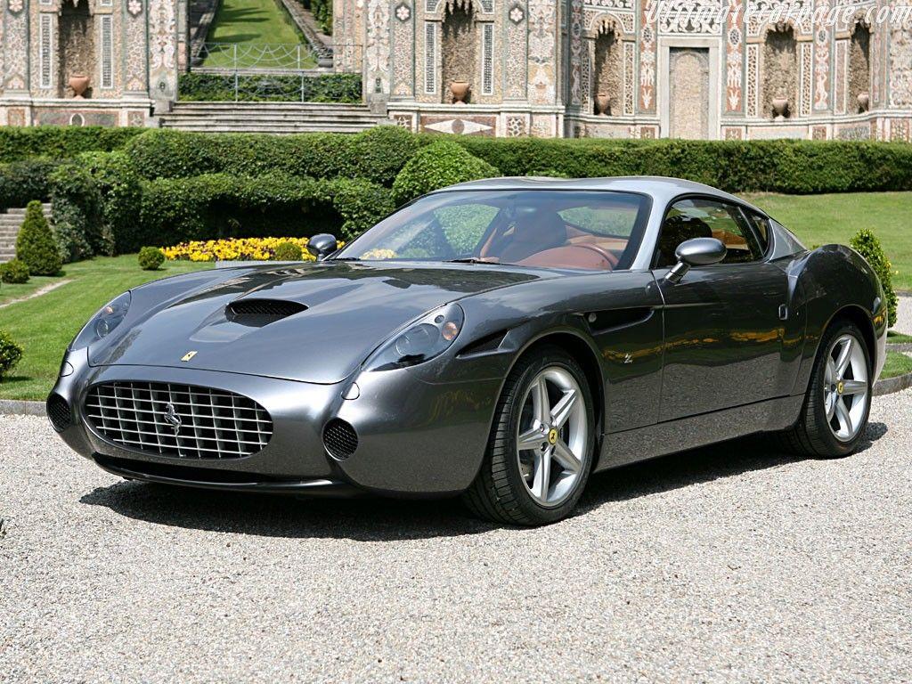 Black Ferrari 575 GTZ Zagato