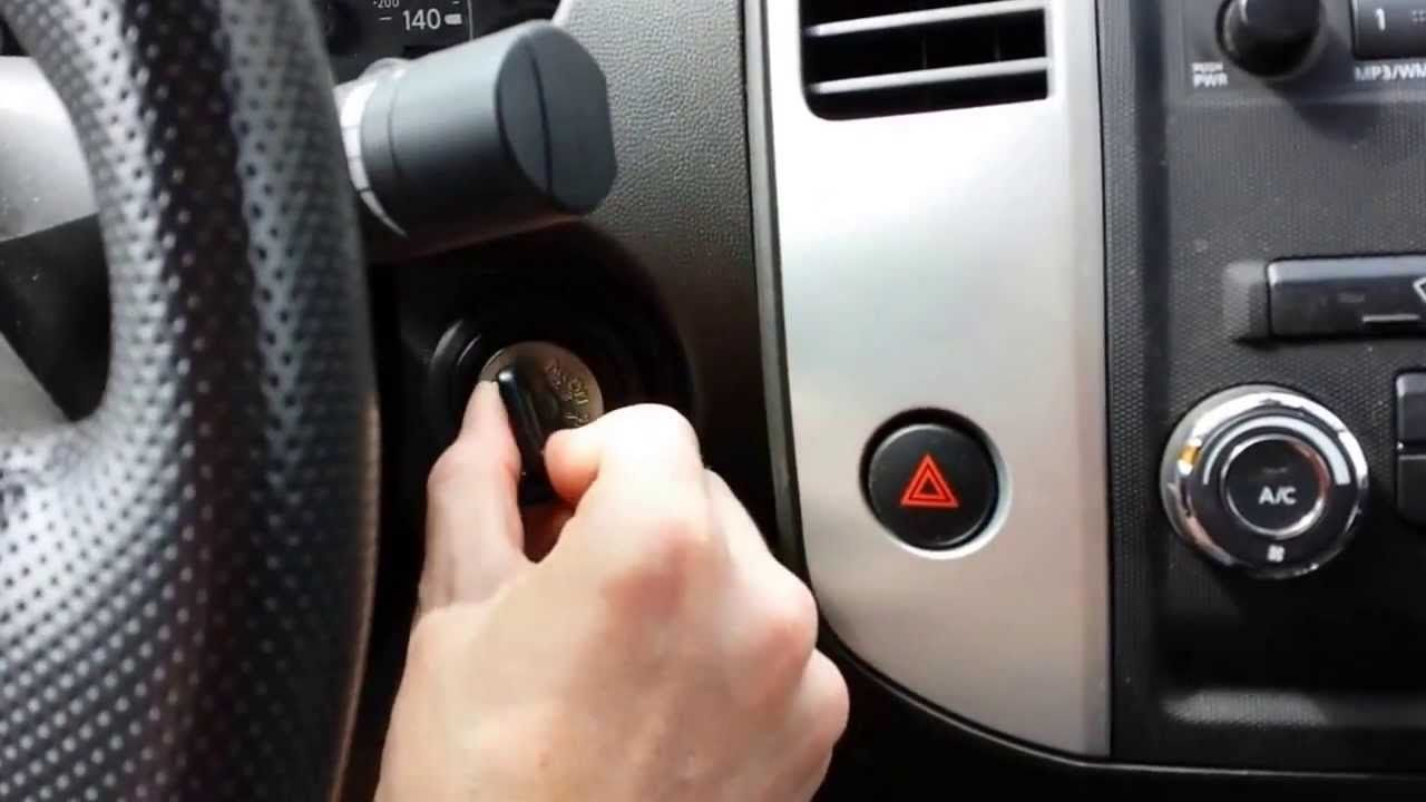How To Program A Replacement Nissan Keyless Remote Key Fob Transmitter