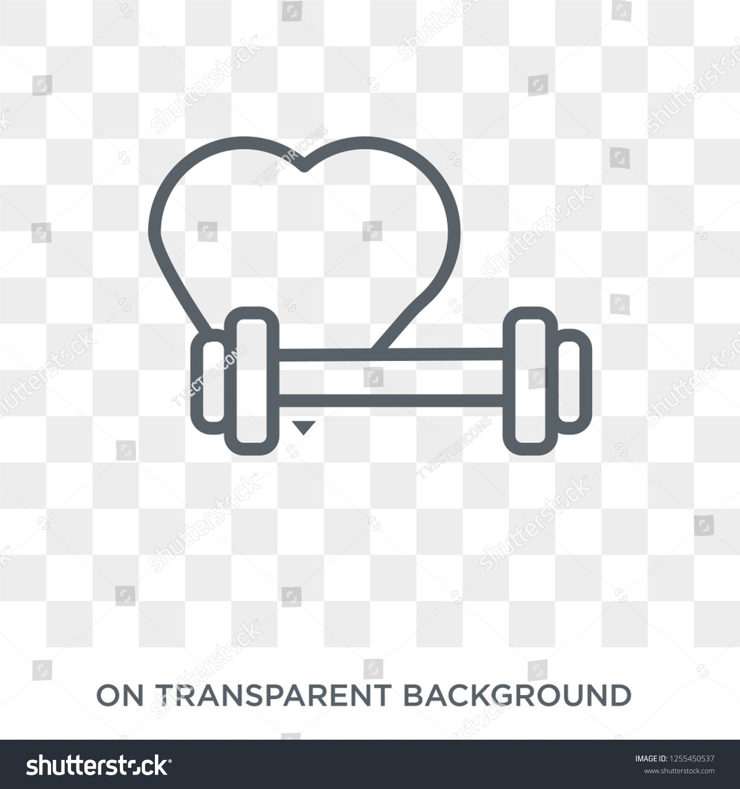 fitness Heart icon  Trendy flat vector fitness Heart icon on