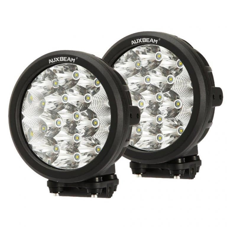 9inch 185W Black Round Cree LED Driving Flood Work Light Offroad Jeep Truck Ford
