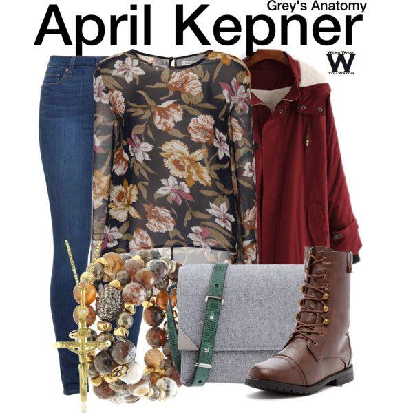 85da06bc761c3 Inspired by Sarah Drew as April Kepner on Grey s Anatomy.