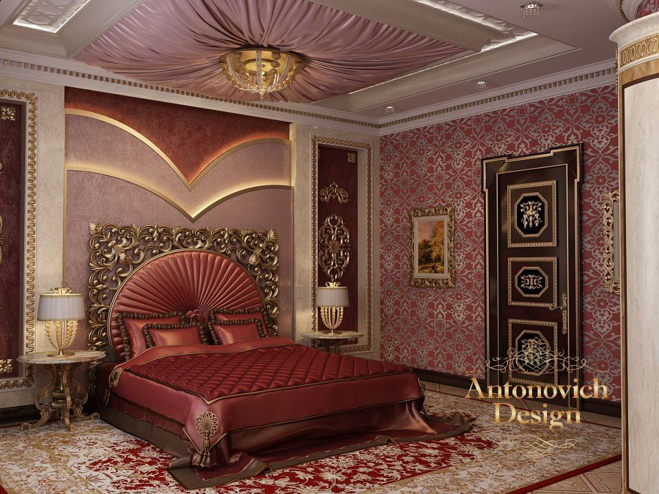 Best Elegant Red Awesome Bedrooms Gorgeous Bedrooms Interior 400 x 300