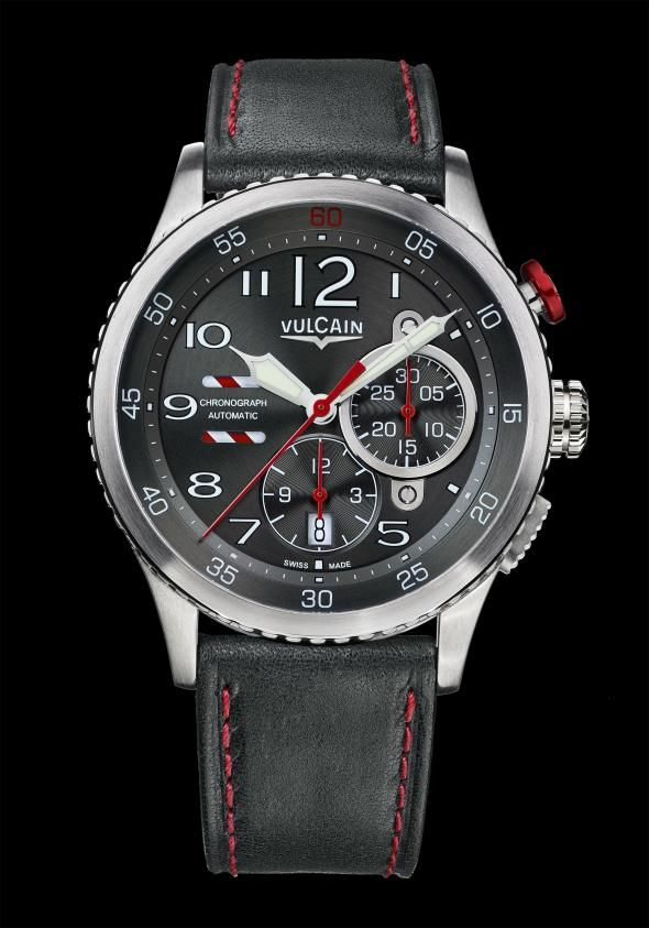 vulcain aviator instrument chronograph bremont swiss watchmakers horlogerie vulcain. Black Bedroom Furniture Sets. Home Design Ideas