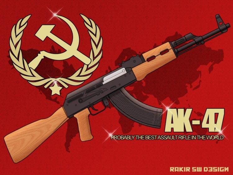 AK47 HD Desktop Wallpaper