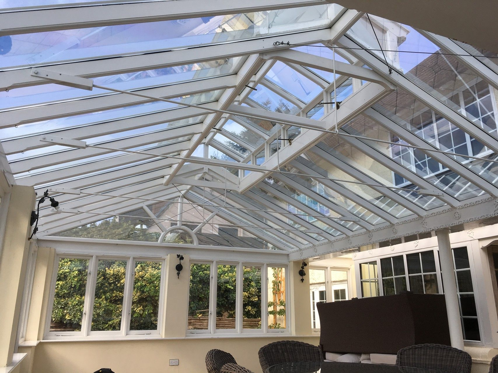 As Well As Effective Solar Control Keeping Your Conservatory Orangery Or Summer House Cooler For Longer An Applic Window Film Conservatory Roof Summer House