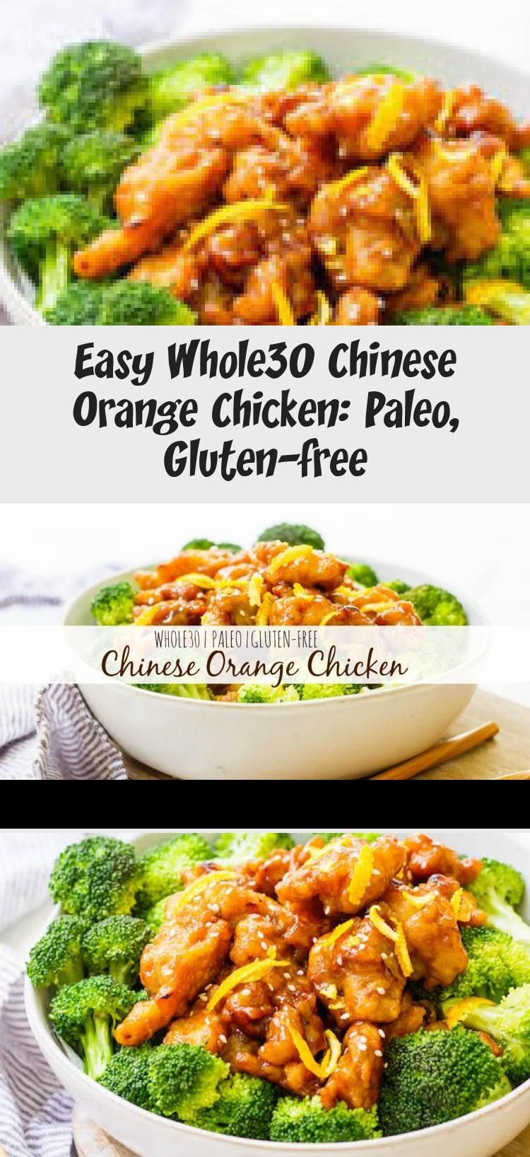This easy Whole30 Chinese orange chicken is the best takeout fake-out ever. Sometimes you just need some orange chicken in your life, and this version is much healthier and there's no delivery fee! It's also a Paleo orange chicken recipe, which makes it gluten free and made from real ingredients, so you can skip the MSG! #whole30orangechicken #paleoorangechicken #whole30chickenrecipes #Casserolerecipe #Cheesecakerecipe #Pizzarecipe #CleanEatingrecipe #Healthyrecipe #chineseorangechicken This eas #chineseorangechicken
