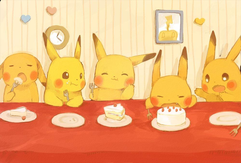 Pikachu feast
