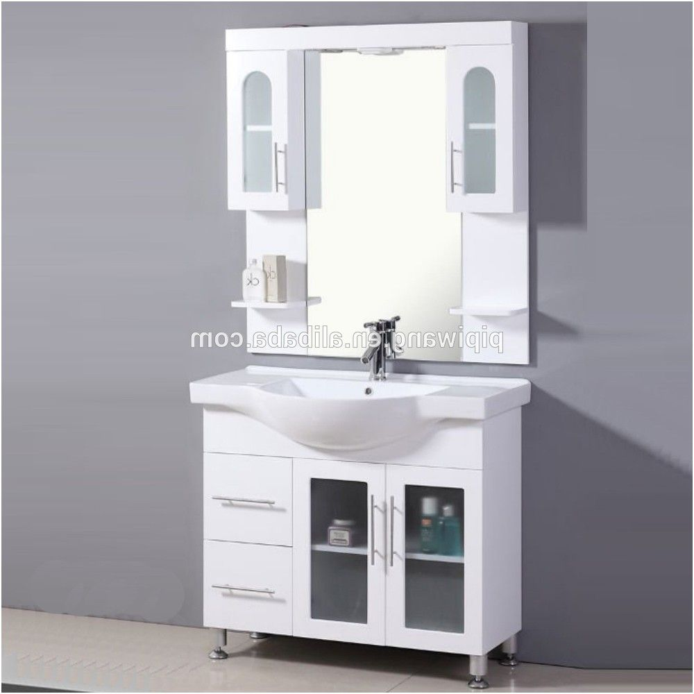 Frosted Gl Bathroom Door Cabinet From