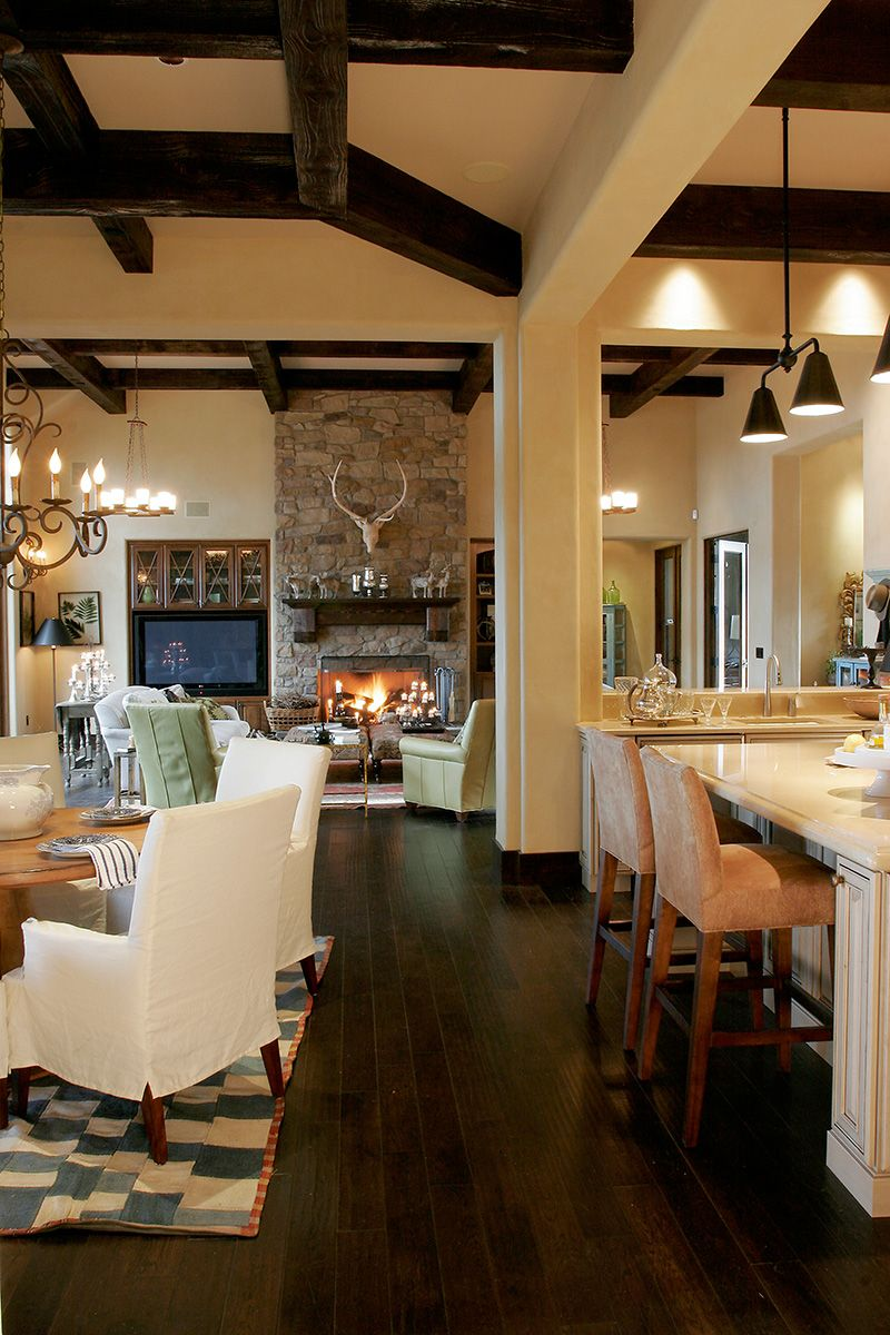 Demere Luxury European Home Rustic House Plans Living Room Decor Country European House
