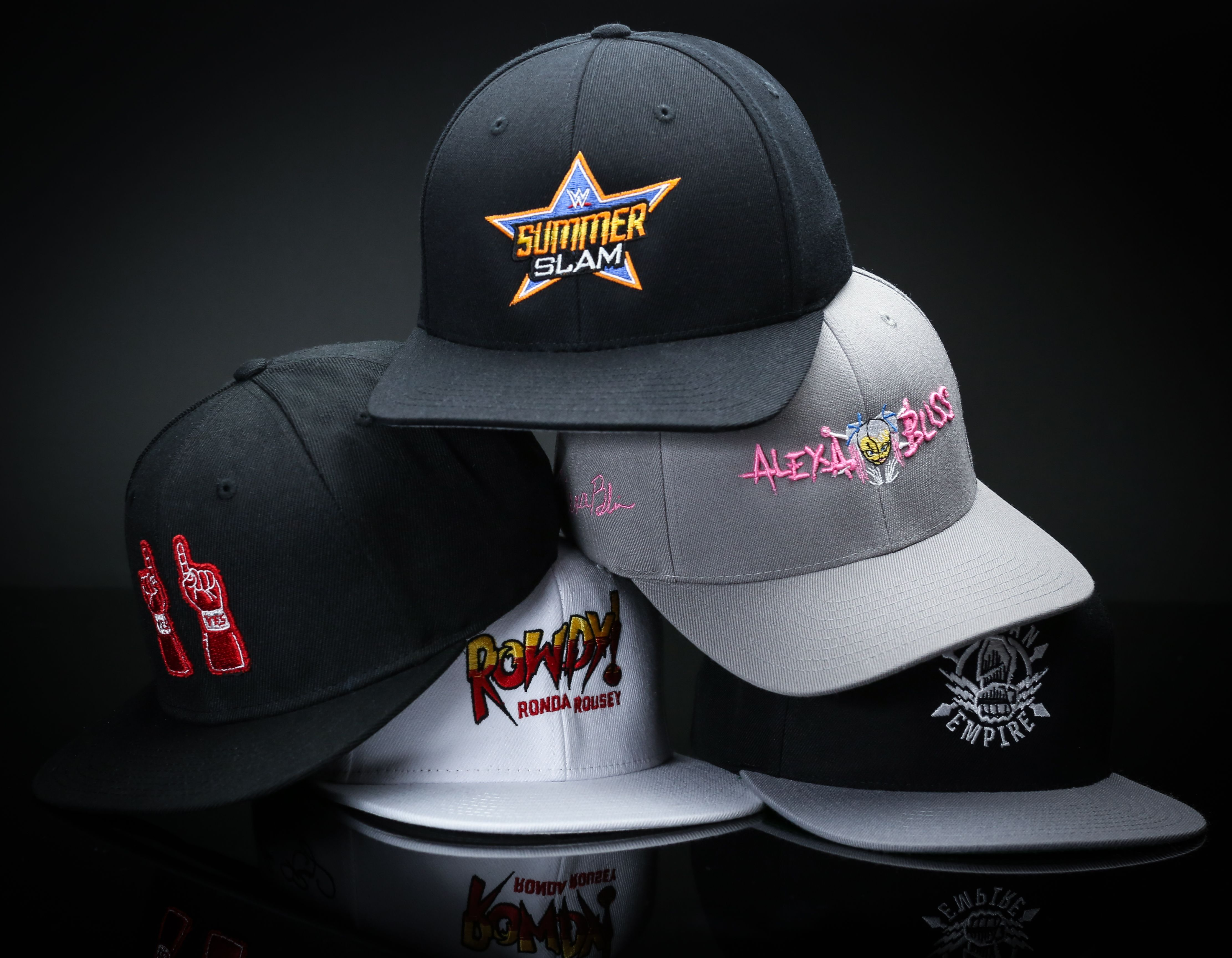 a384e4ed31dfd Personalize your love for WWE with custom hats by Lids.