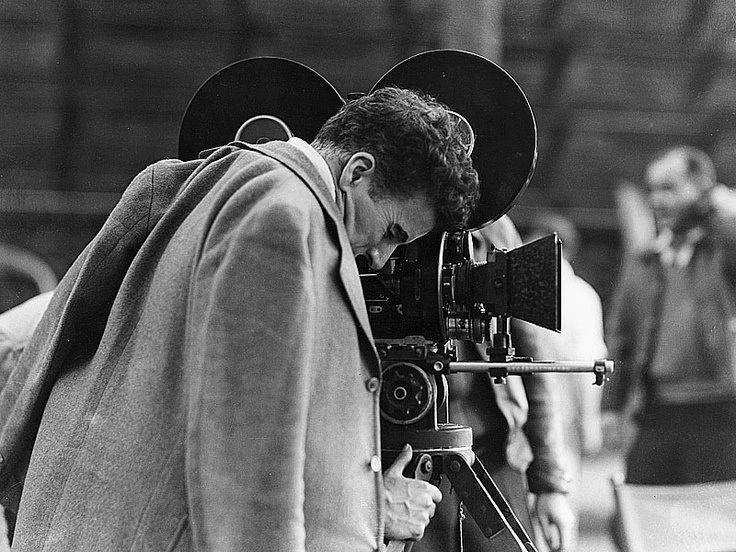 Charlie Chaplin checking the camera framing | The Beauty Of Film ...
