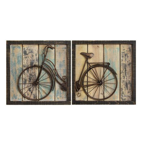 Bicycle Diptych Wall Décor - Signals