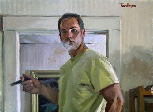 Self-portrait - Tom Hughes