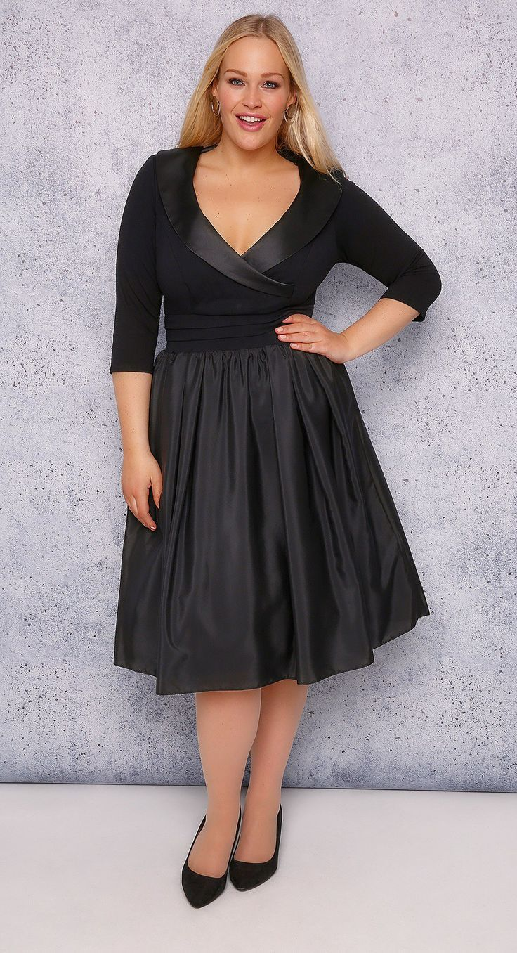 36 Plus Size Wedding Guest Dresses {with Sleeves   Kleider